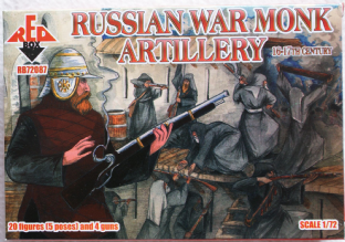 Red Box 1/72 RB72087 Russian War Monk Artillery (16th-17th Century)